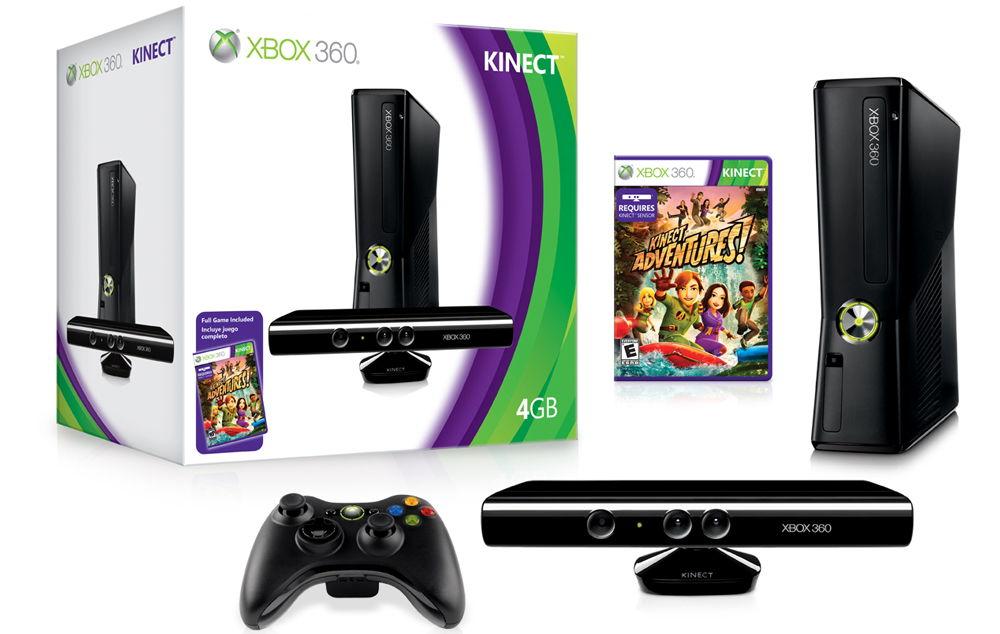 Xbox 360 Slim коробка