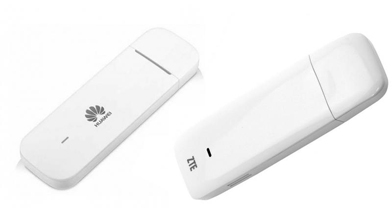Модемы Huawei и ZTE