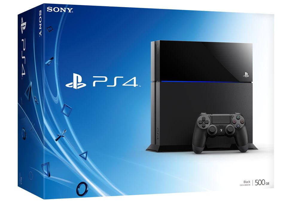 Коробка PS4