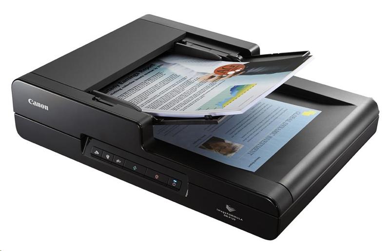 Сканирование документа в сканере
