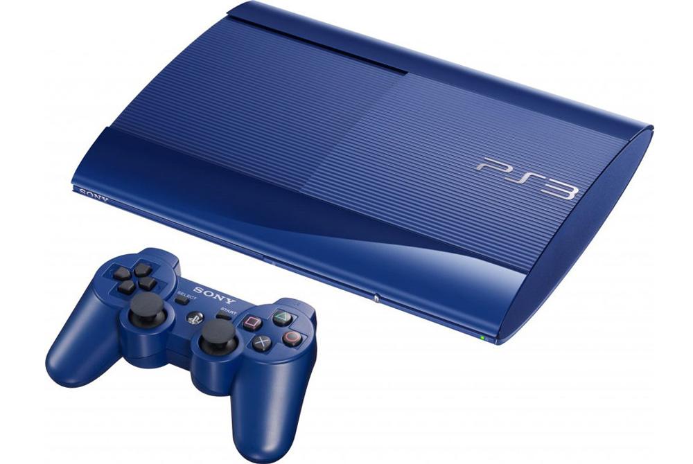 Sony Playstation 3 синяя