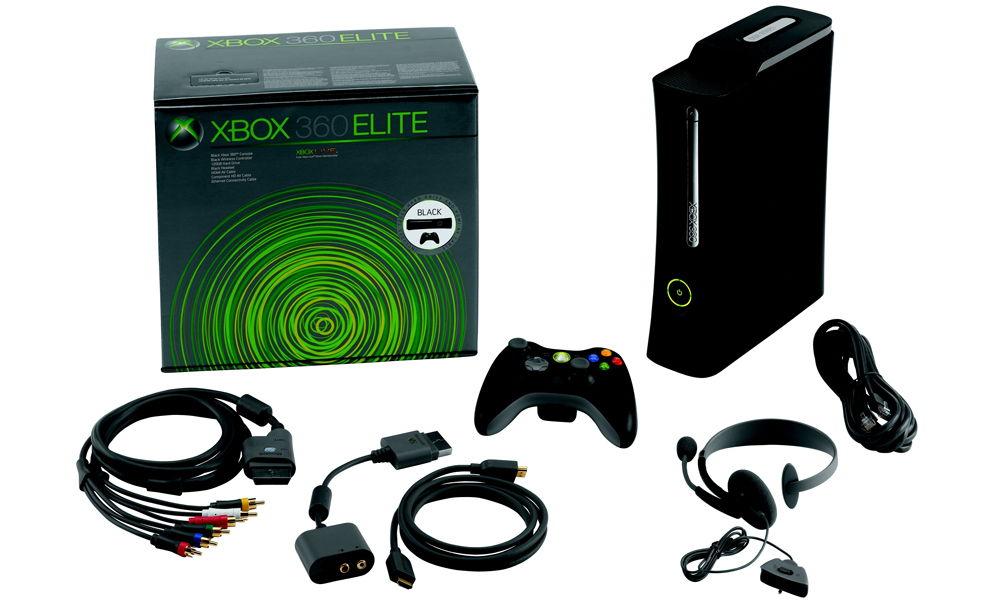 Xbox 360 Elite комплектация