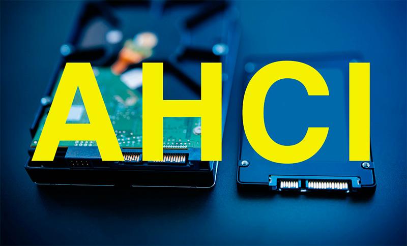 Жесткий диск AHCI