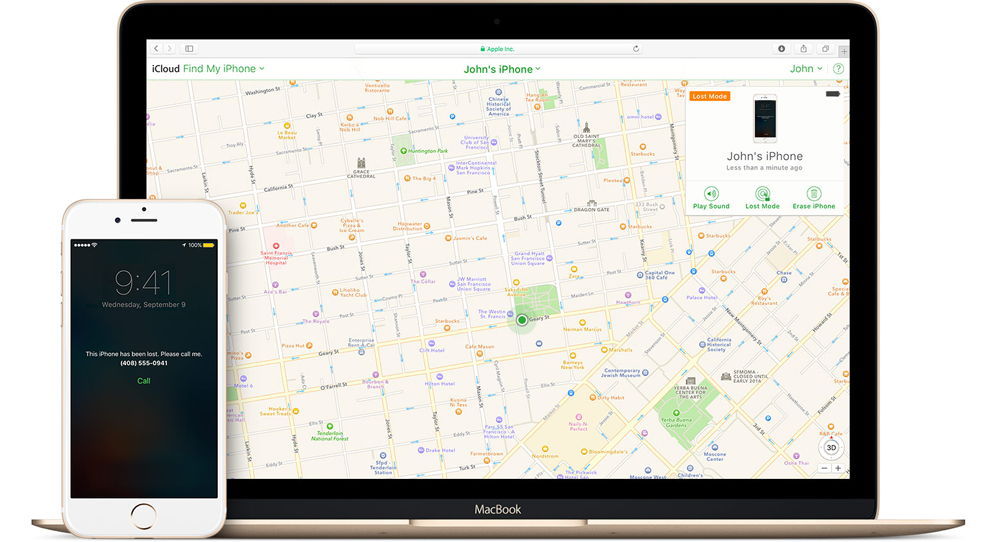 Сервис Найти iPhone