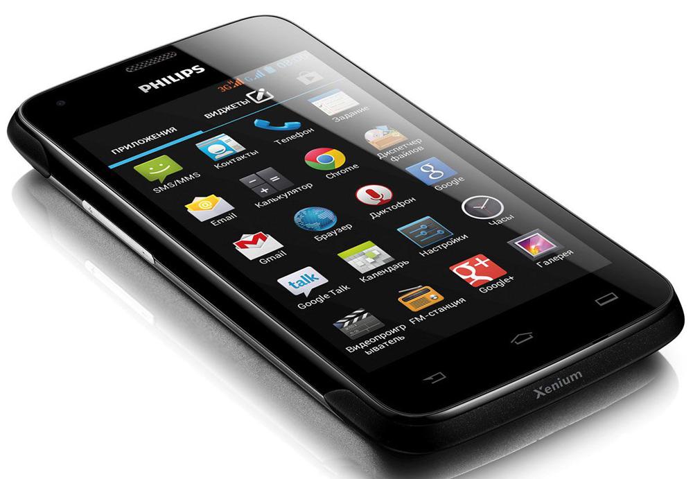Как прошить смартфон Philips Xenium