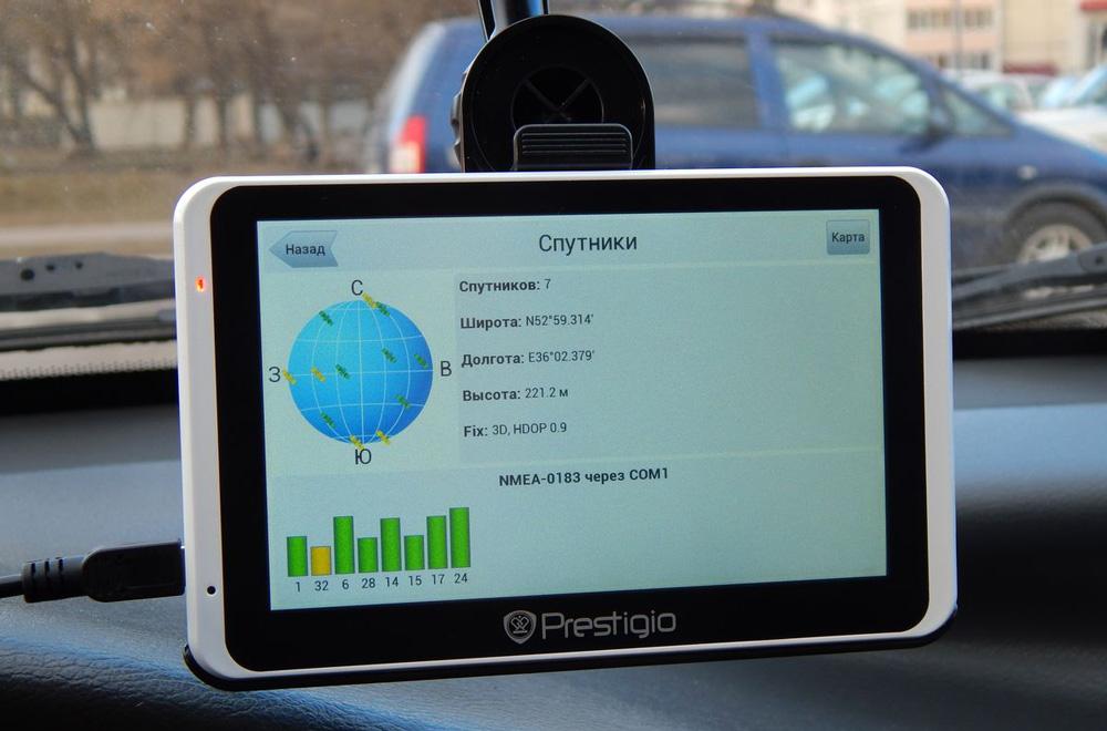 Как осуществляется прошивка навигатора Prestigio Geovision