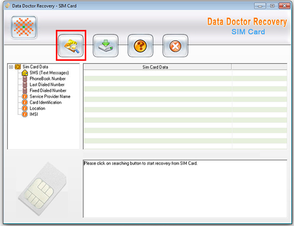 Data doctor recovery интерфейс