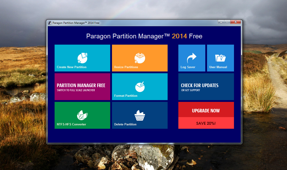 Paragon Partition Magic