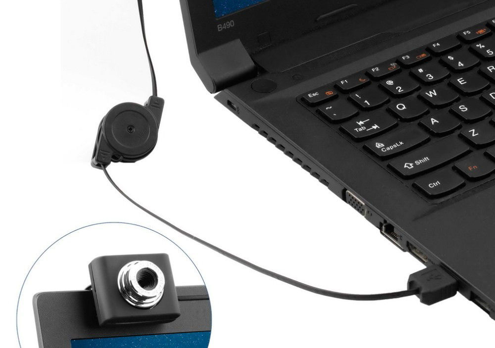 Подключение веб-камеры