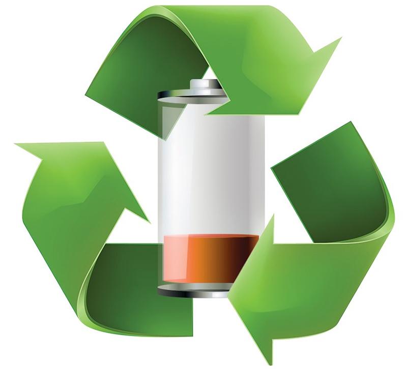 Утилизация использованных батарей