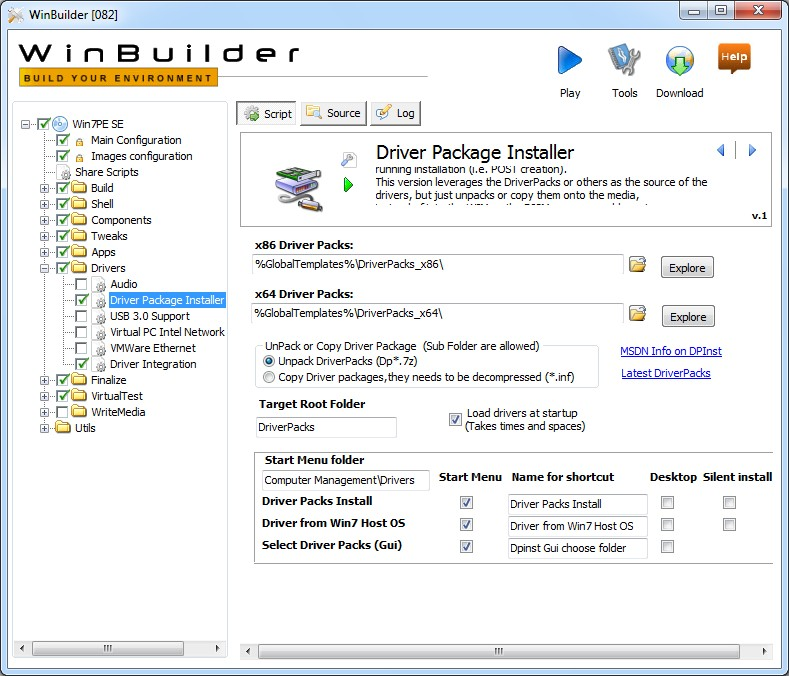 Driver Package Installer