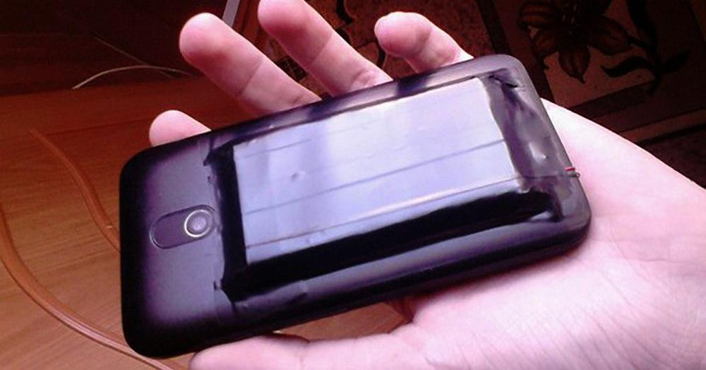 Самодельный чехол с аккумулятором для смартфона