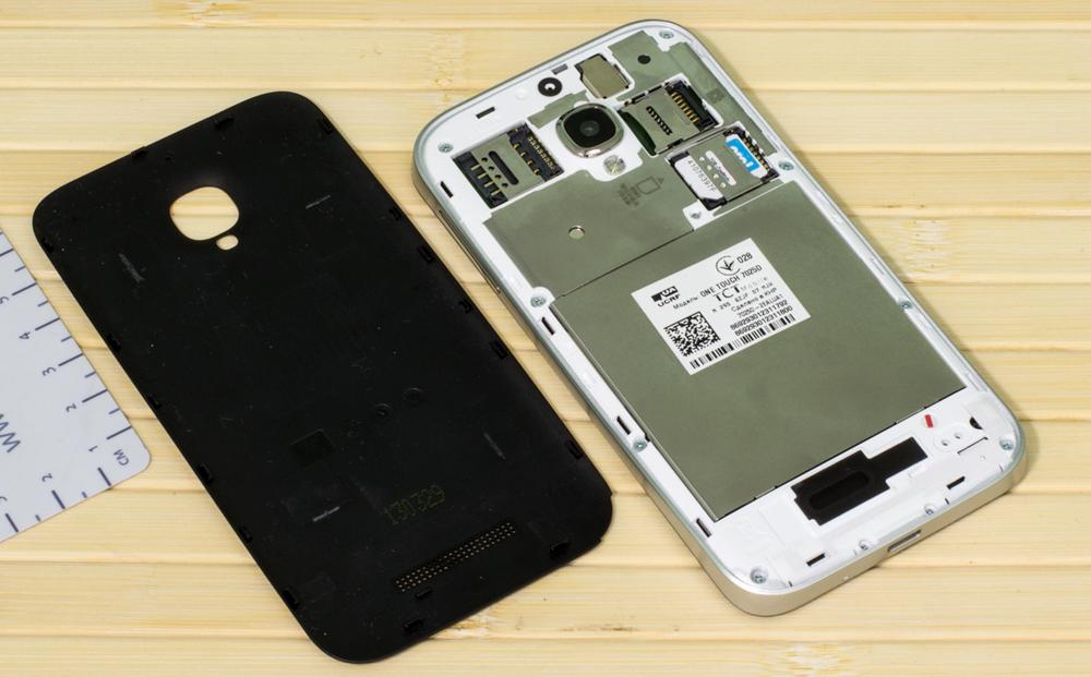Несъемный аккумулятор телефона