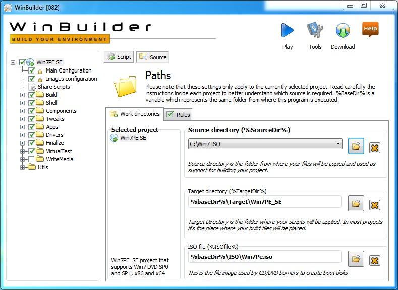 Путь кSource Directory