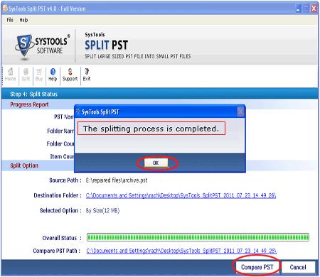 Скриншот программы Split4GB