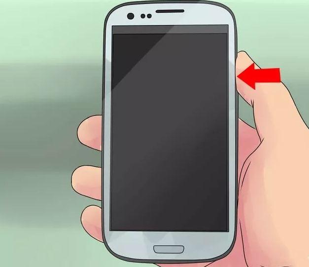 Выключение телефона Samsung