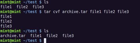 Работа с архивами