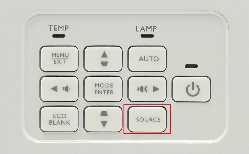 Кнопки проектора BenQ