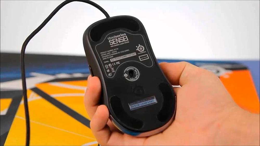 Лазерная проводная мышь