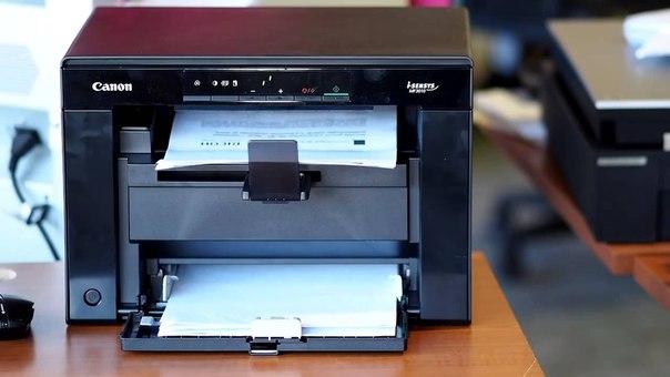 Печать пробной страницы