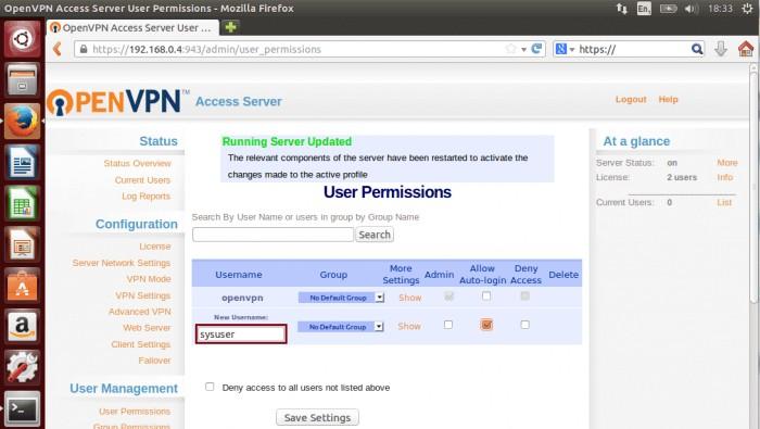 OpenVPN в работе