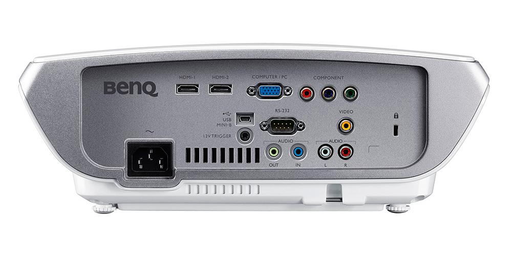 Задняя панель проектора Benq