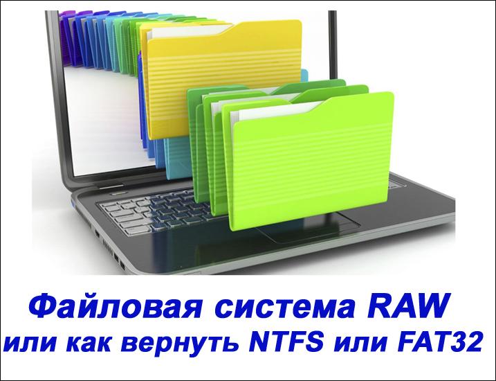 Файловая система RAW