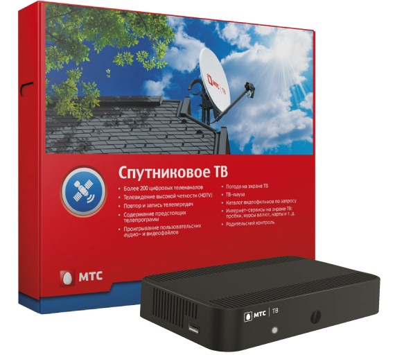 Комплект спутникового телевидения МТС