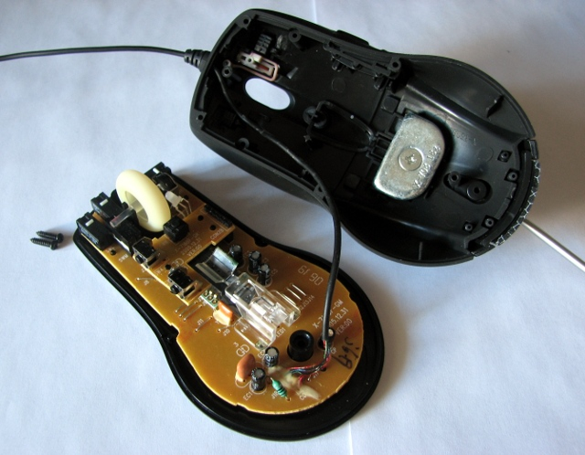 Чистая компьютерная мышь