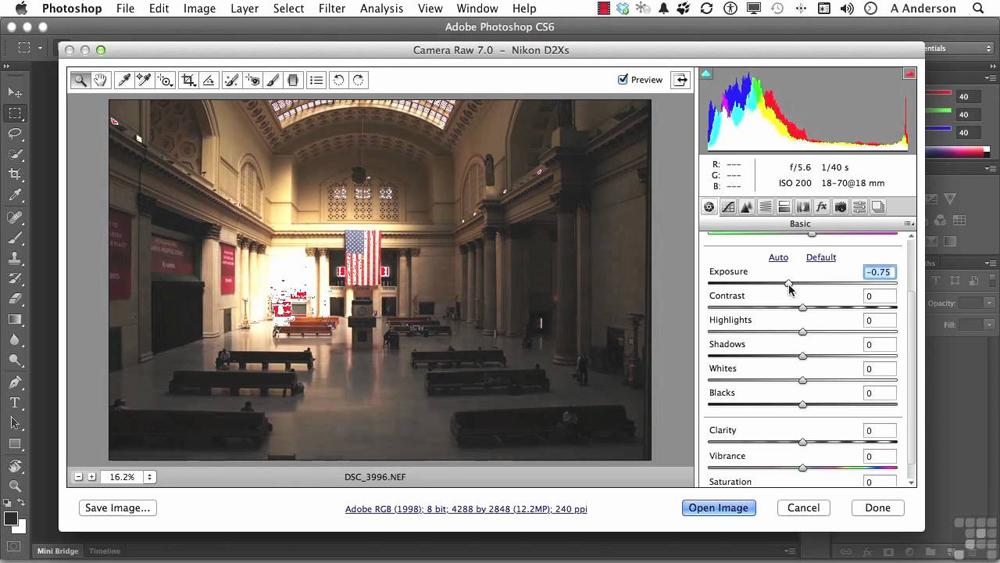 Убрать шум с фотографии в фотошопе онлайн