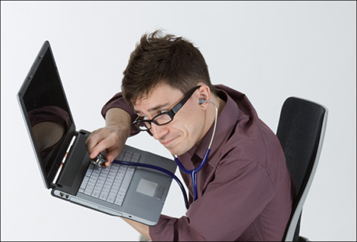 Проверка ноутбука на дефекты