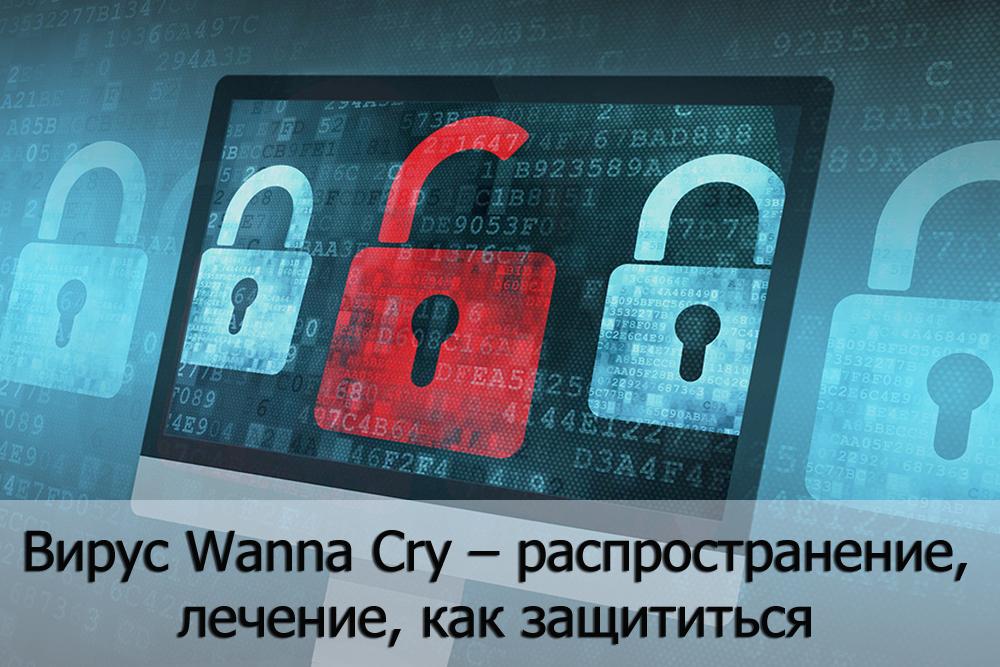 Вирус Wanna Cry – как распространяется, лечение, как защититься