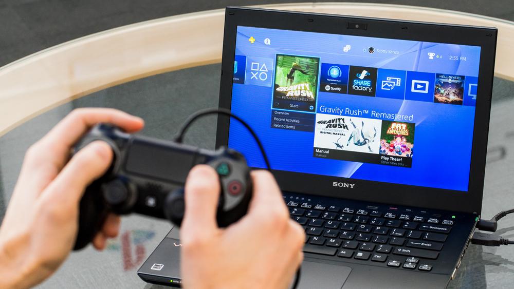 Использование программы Remote Play
