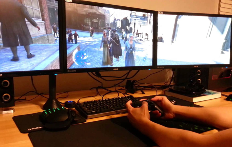 Подключение PS4 к мониторам