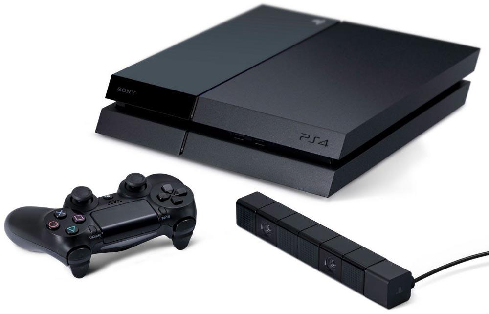 PS 4, джойстик и Camera