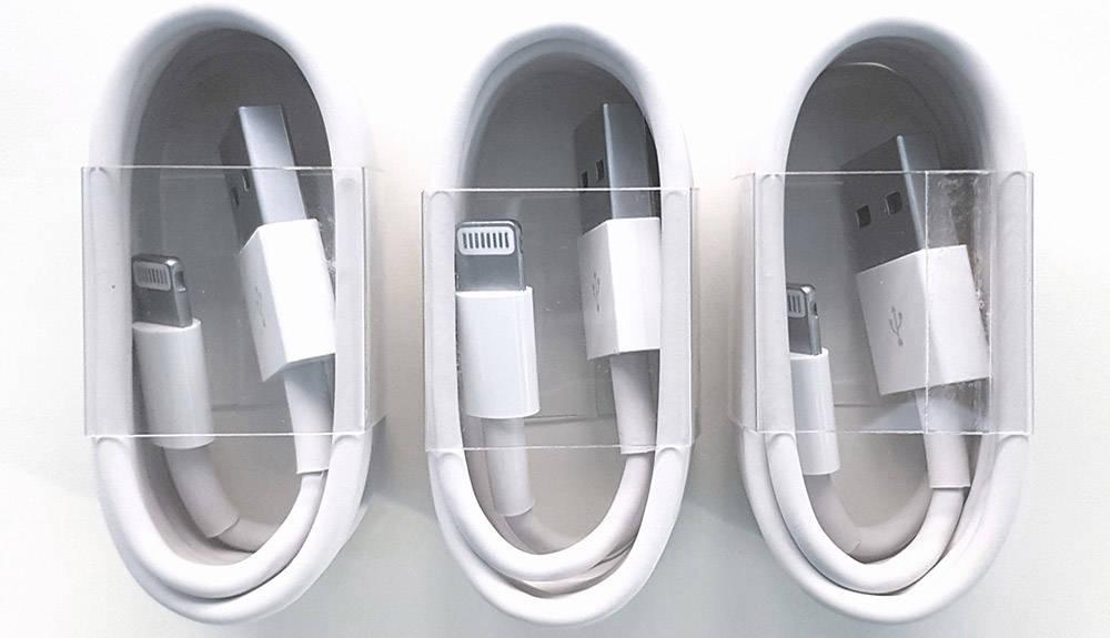 Использование оригинального USB-кабеля