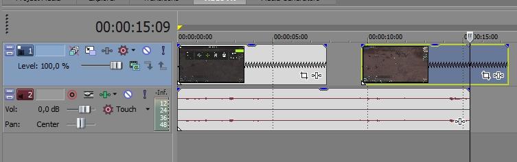 Удалить фрагмент видео