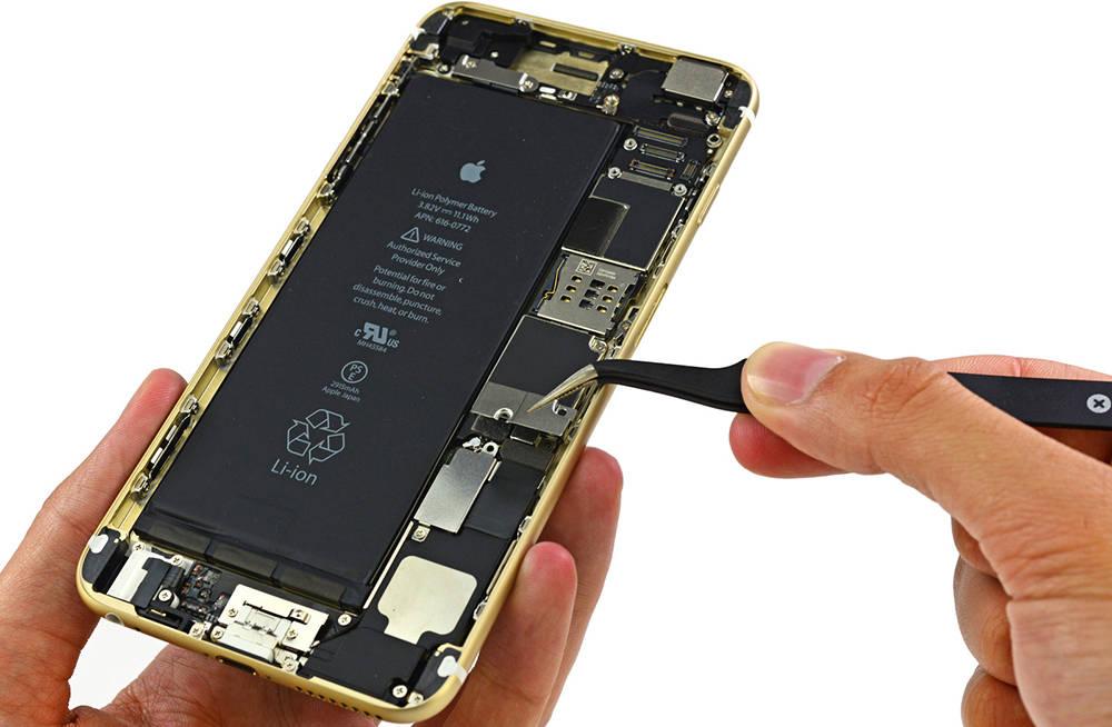 Выполнить замену батареи