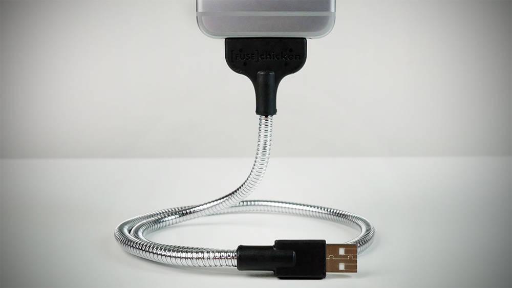 Заменить USB-кабель
