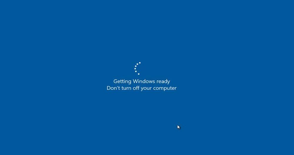 СообщениеGetting Windows ready