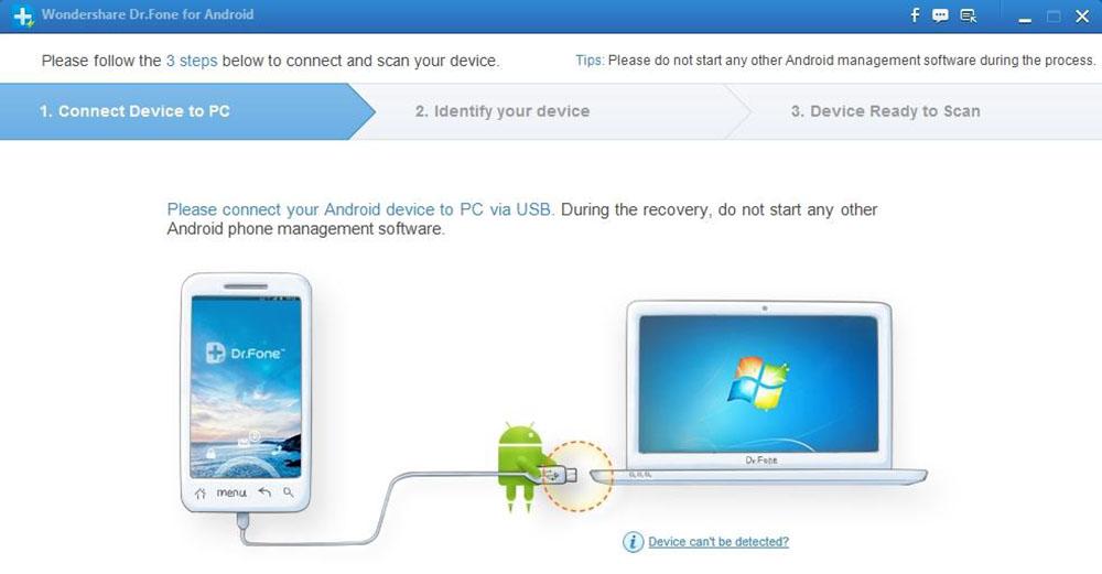 Подключение через USB-кабель
