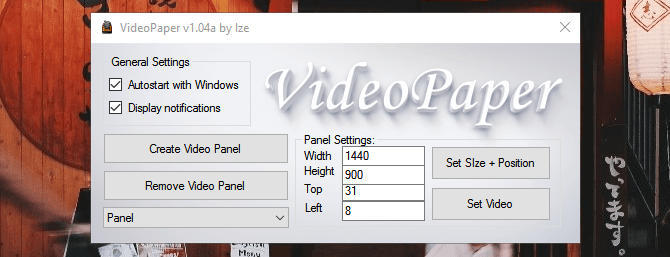 VideoPaper