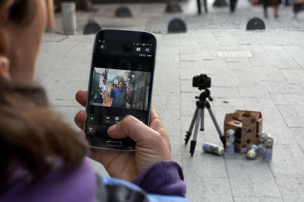 Удалённое управление камерой со смартфона