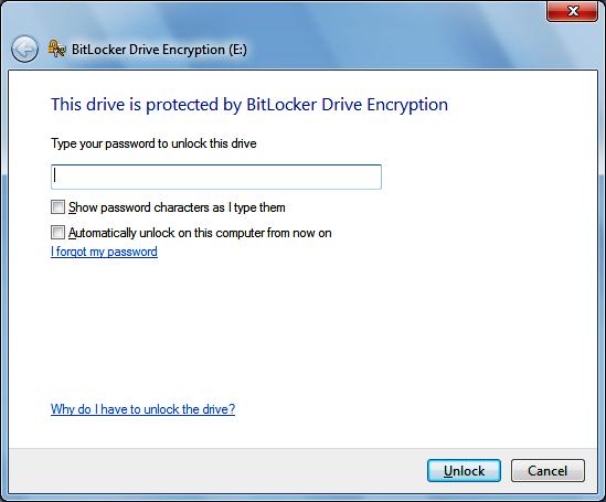 Приложение BitLocker To Go