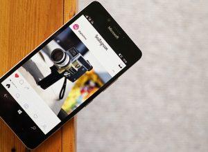 Установка Instagram для Windows Phone