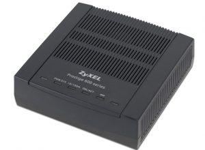Как прошить и настроить ZYXEL P600 series