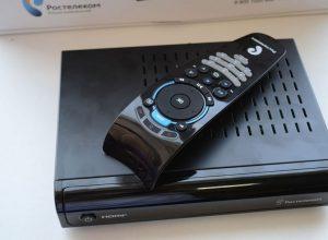 Подключение приставки Интерактивного ТВ Ростелеком и настройка телевизора